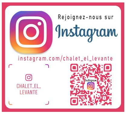 Instagram Chalet Levante